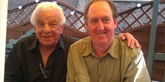 """The Lad Himself"" Playing a dead clown in Edinburgh 2012 but I got to meet Barry Cryer!"